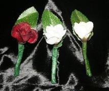 Glittered Rosebud