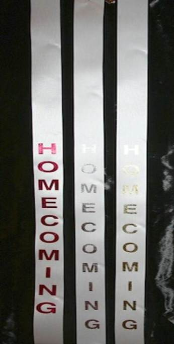 Traditional Homecoming Ribbon