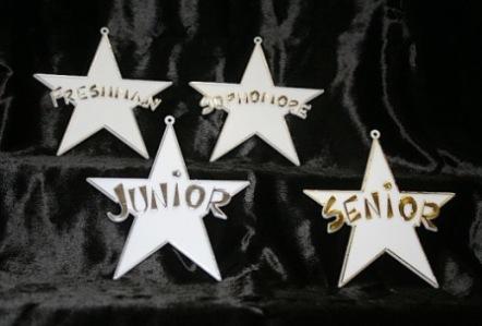 Freshman, Sophomore, Junior, Senior Stars