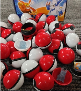 Pokeball w/ prize inside