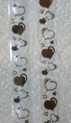 Clear Bubble Hearts