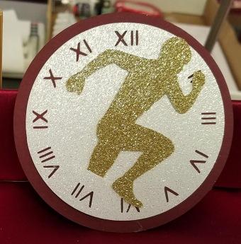 Running thru Time plaque