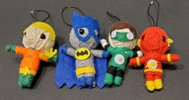 DC Comic string doll